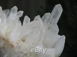 Granit De Cristal À Quartz Transparent Naturel, Puissant, Guérisseur Maître