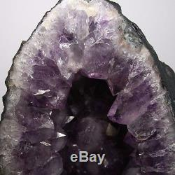 Haute Qualité Aaa Améthyste Cristal Quartz Cluster Geode Cathédrale 26.80 Lb