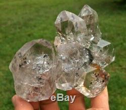 Herkimer Diamond Quartz Crystal Point Cluster De Ace Of Diamonds À New York