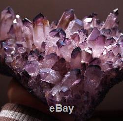 Hou La La! 2035g Gem Natural Amethyst Citrine Quartz Crystal Cluster