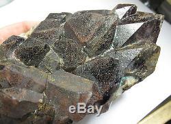 Huge Beta Quartz Super Seven 7 Melody Stone Crystal Cluster A