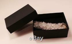 Lalique Muguet Bracelet En Cristal Clair Givré Avec Grappe De Fleurs De Grappes