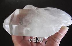 Lightning Strike White Light Pleiadian Master Starbrary Quartz Crystal Cluster 3