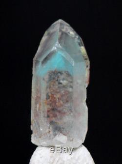 Rare Ajoite Quartz Cristal Grappe Spécimen Minéral Messina Mine De Cuivre S. Afrique