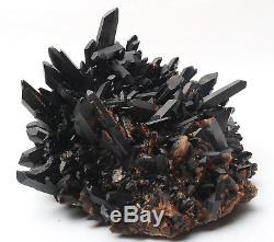 Rare Spécimen Minéral Naturel Quartz Noir Quartz 12.3lb