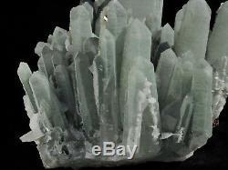 Spécimen Minéral De Grappe De Quartz Vert De Qualité Supérieure En Provenance De Chine
