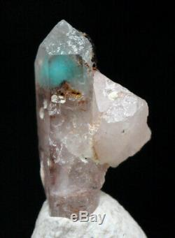 Spécimen Minéral De Grappes De Cristaux De Quartz Ajoite Rare, Mine De Cuivre De Messine, Afrique Du Sud