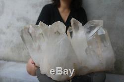Spécimen Tibétain À Grappes De Cristaux De Quartz Clair Naturel De 24 000 G (52,9 Lb)