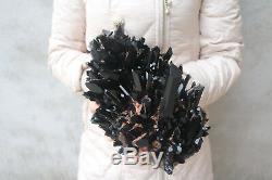 Spécimen Tibétain B191 De Grappe De Cristal De Quartz Noir Naturel De 5020g