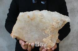 Spécimen Tibétain B691 D'aggloméré De Cristal De Quartz Clair Naturel De 3960g
